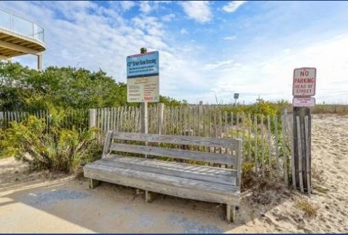 Close Beach Access!