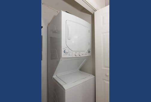 Laundry Facilities in Hallway